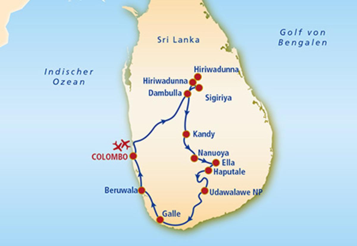 Bild 4 von Sri Lanka Rundreise & Baden  Die Perle des Indischen Ozeans