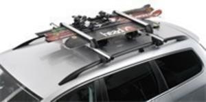 Skiträger, Dachträger für Ski/ Snowboard aus Aluminium für 4 - 6 Paar Ski oder 2 Snowboards