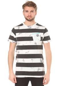 Neff Christoph Washed Stripe - T-Shirt für Herren - Streifen
