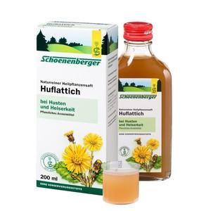 Schoenenberger  Naturreiner Heilpflanzensaft Huflattich 200 ml