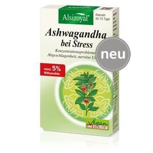 Alsiroyal  Ashwagandha bei Stress 30 Kapseln