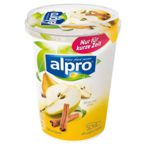 Alpro Soja-Joghurtalternative Birne-Zimt 500g