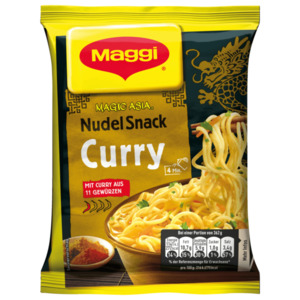 Maggi Magic Asia Instant Nudeln Snack Curry 62g