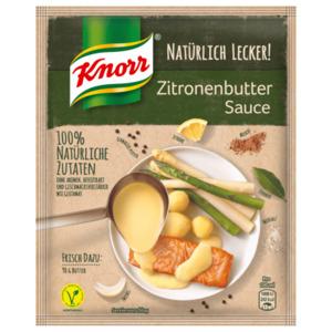 Knorr Natürlich Lecker Zitronen Butter Sauce 250 ml