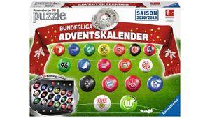 Ravensburger Puzzle - 3D Puzzle-Ball - Adventskalender Bundesliga - Saison 2018 / 2019