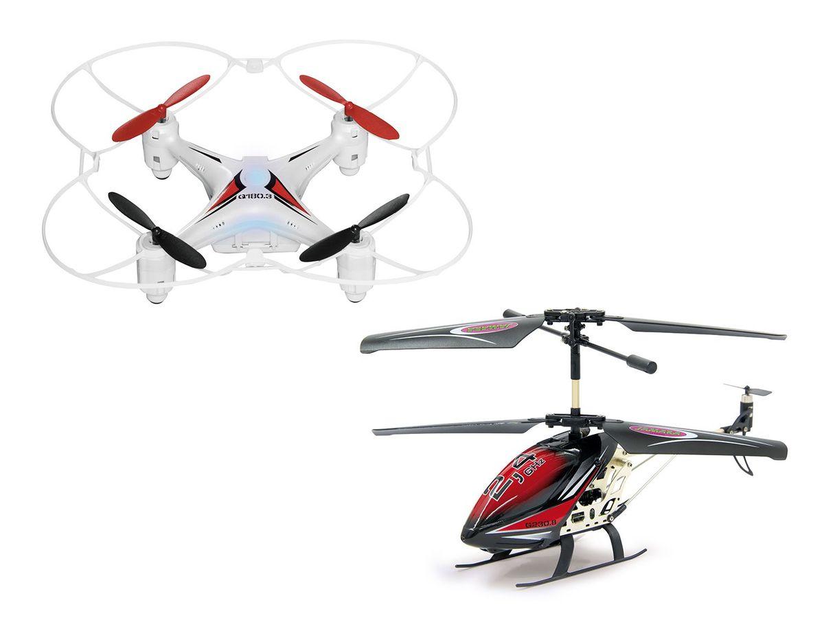 Bild 1 von JAMARA Quadrocopter Q18.3 / Helicopter G230.8