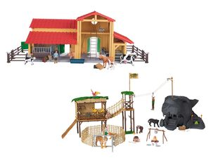 PLAYTIVE® JUNIOR Bauernhof/Wildtierstation
