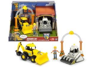 DICKIE Bob der Baumeister Garagen Set