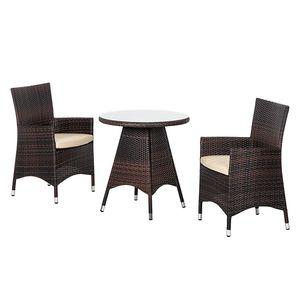 home24 Bistroset Paradise Lounge II (3-teilig)