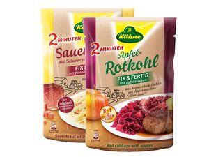 Kühne 2-Minuten-Rotkohl/Sauerkraut