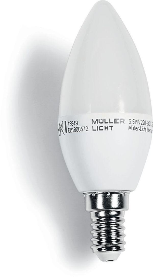 MÜLLER LICHT LED Leuchtmittel - Kerze E14