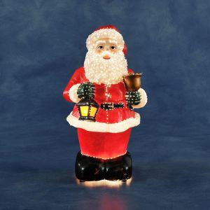 "Konstsmide LED Fiberoptikfigur ""bunter Weihnachtsmann"""