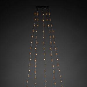 Konstsmide Micro LED Baummantel, Ø 11, 240 cm lang