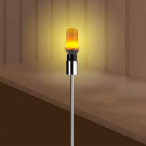 EASYmaxx LED-Glühlampe Flammeneffekt E27 1W weiß