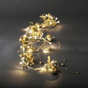 Konstsmide LED Dekolichterkette, gold