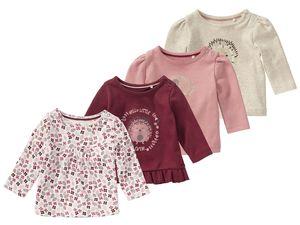 LUPILU® PURE COLLECTION Baby Mädchen Langarmshirt