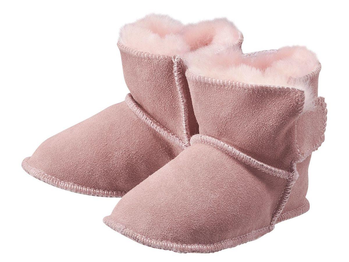 Bild 2 von LUPILU® PURE COLLECTION Baby Mädchen Lammfellstiefel