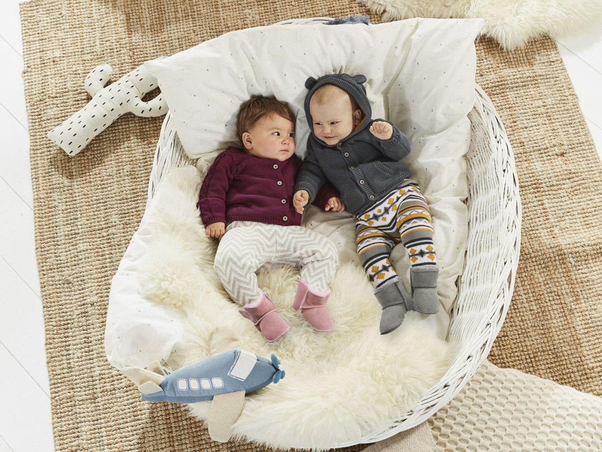 Bild 4 von LUPILU® PURE COLLECTION Baby Mädchen Lammfellstiefel