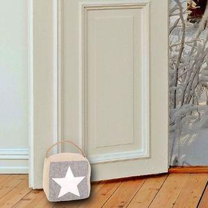Türstopper mit Sternmotiv und Kordelgriff 1,5kg