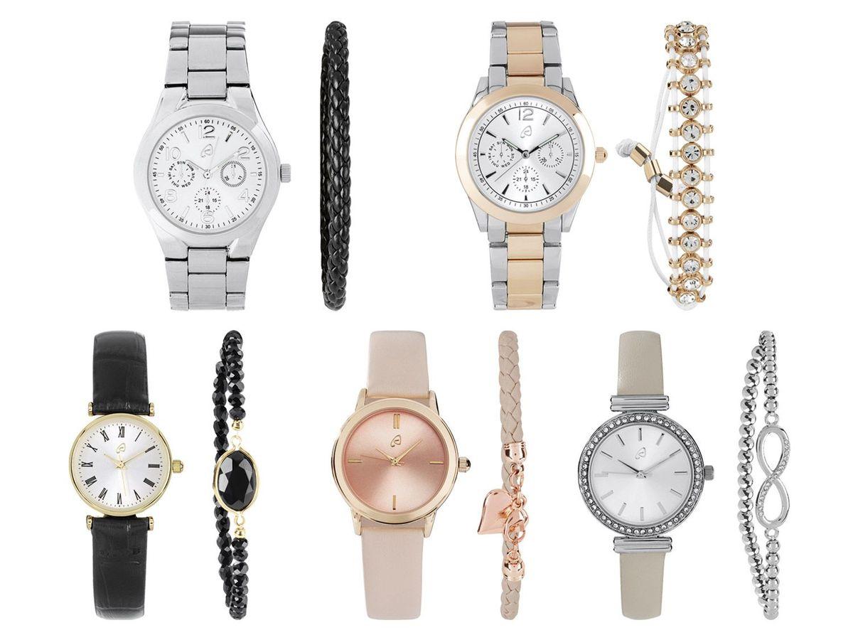 Bild 1 von AURIOL® Damen Armbanduhr-Schmuckset