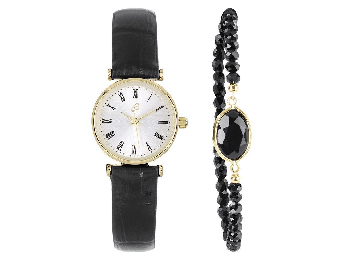 Bild 2 von AURIOL® Damen Armbanduhr-Schmuckset