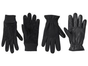 LIVERGY® Herren Leder-Handschuhe