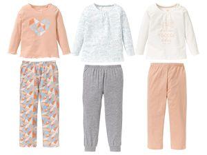 LUPILU® PURE COLLECTION Kleinkinder Mädchen Pyjama