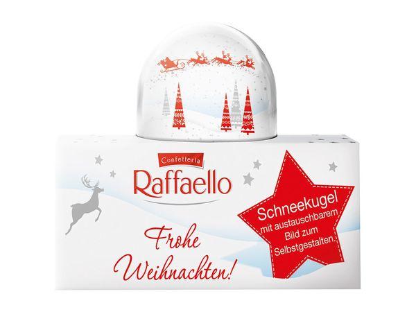 Ferrero Raffaello-Schneekugel