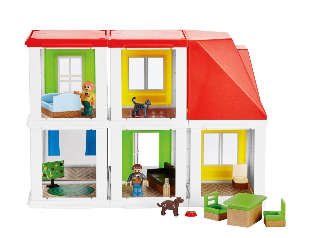 Bild 2 von PLAYTIVE® JUNIOR Wohnhaus/Bauernhof/Supermarkt