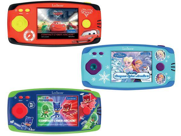 LEXIBOOK LCD-Spielekonsole mit 150 Spielen