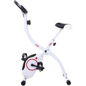 AsVIVA Sport Heimtrainer H14 Fitness-Fahrrad white