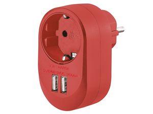 SILVERCREST® USB-Steckdosenadapter