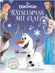 Die Eiskönigin - Rätselspass mit Olaf - Rätseln und Malen