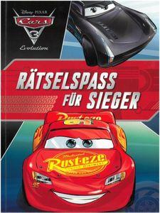 Disney Cars 3 - Rätselspass für Sieger