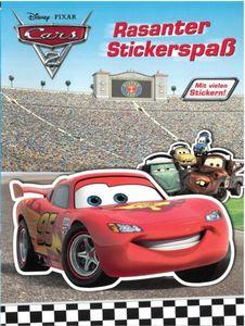 Disney Cars 2 - Rasanter Stickerspaß - mit vielen Stickern!
