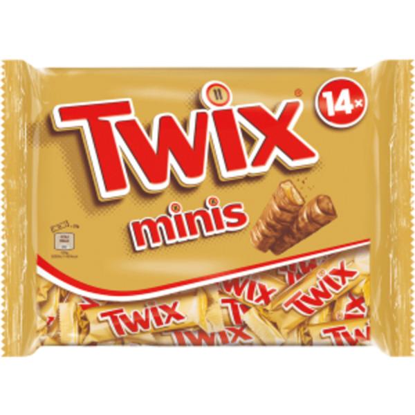 Mars, Twix oder Bounty Minis