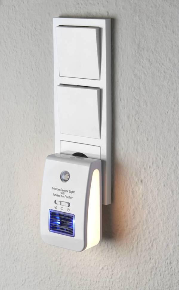 Nachtlicht mit Sensor und Luftreinigungsfunktion Wetelux