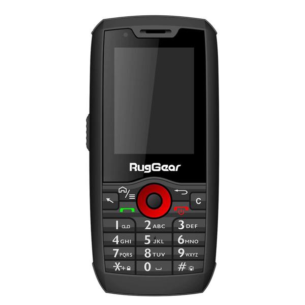 Outdoor Handy RG160 Light mit Dual SIM und Kamera, IP68 RugGear