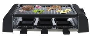 Raclette - und Barbeque Grill, 1000 Watt, für 6 Personen Mia