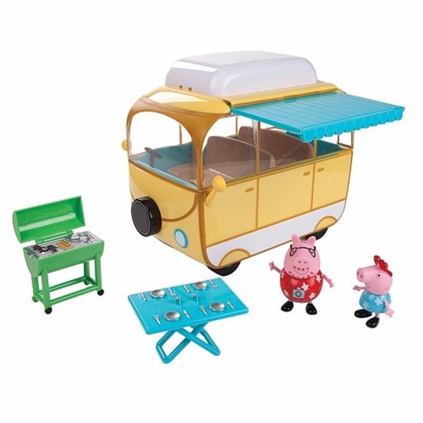 Peppa Pig Campingbus Mit Peppa Und Papa Pig Von Toysrus Ansehen