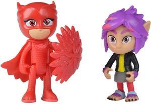 PJ Masks Figurenset Owlette und Rip