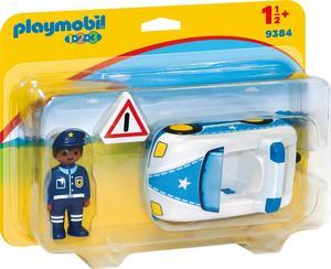 PLAYMOBIL 9384 1.2.3 Polizeiauto