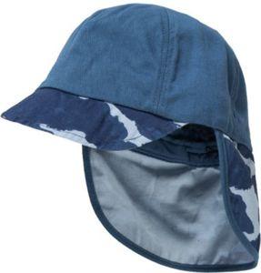 Baby Schirmmütze mit Nackenschutz Gr. 44 Jungen Baby