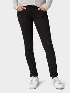 Tom Tailor Alexa Slim Jeans, black denim, 31/30