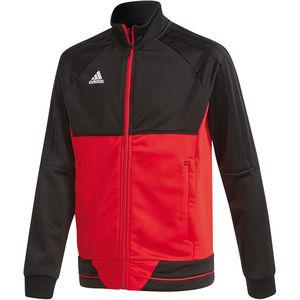 adidas Kinder Trainingsjacke Tiro, rot/schwarz, 140