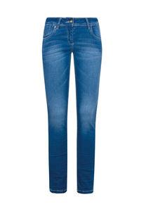 Million X Mädchen Jeans CRASH, new blue, 164