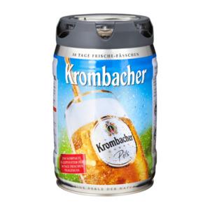 Krombacher Pils-Fass
