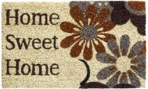 Fußmatte Kokos Home Sweet Home ,  40x60 cm