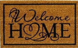 Fußmatte Kokos Welcome Home ,  40x60 cm