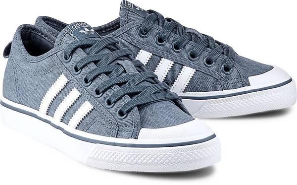 Sneaker Nizza W von Adidas Originals in blau für Mädchen. Gr. 36 2/3